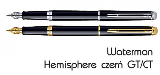 pióra Waterman Hemisphere black